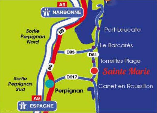 Location camping sunissim le sainte marie 4 location - Office du tourisme st marie de la mer ...