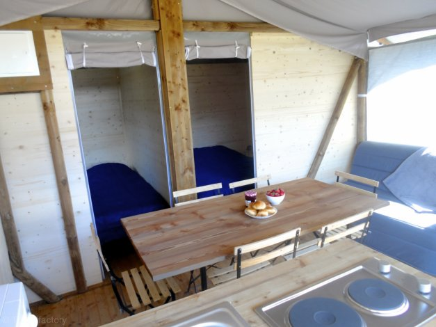 Location Camping Le Bois DAmour , Location vacances