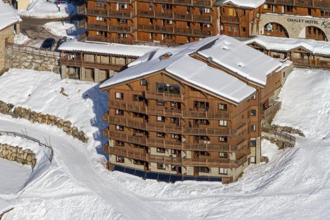 location chalet ski les menuires