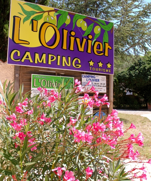 Camping L'Olivier ***