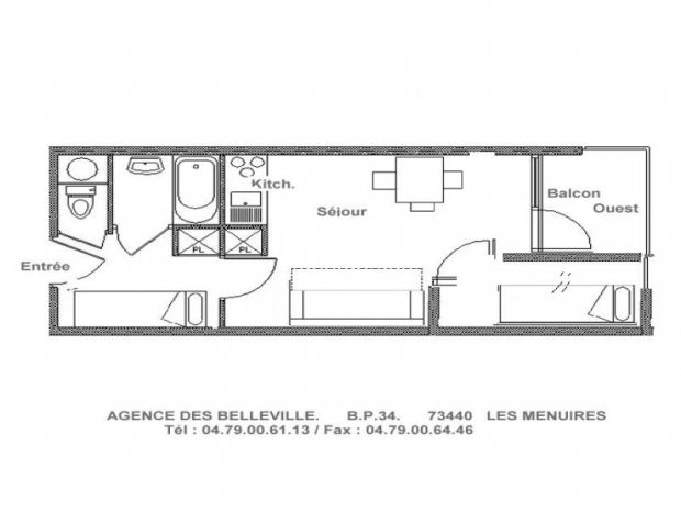 Appartement Les Carlines II