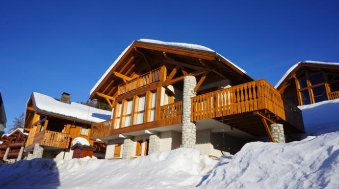 Location chalets de bellec te location vacances les arcs - Chalet de montagne luxe rkd architecte ...