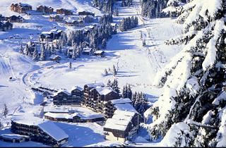 location appartement ski manigod