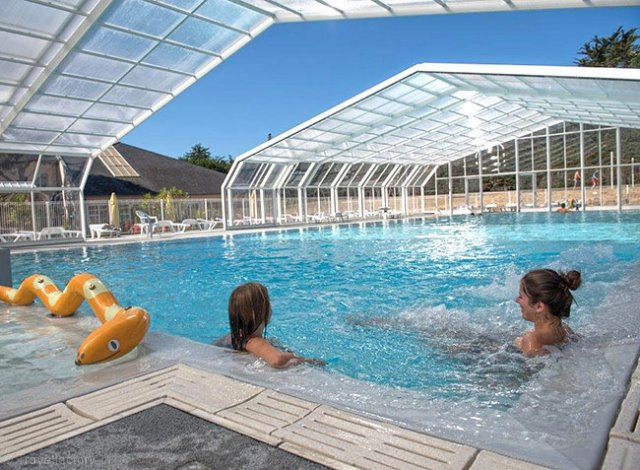 Location flower camping le bois d 39 amour 3 location for Camping piscine quiberon
