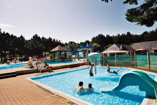 Location camping le conguel 4 location vacances quiberon for Camping piscine quiberon