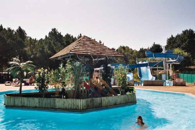Location camping le conguel 4 location vacances quiberon for Camping piscine quiberon