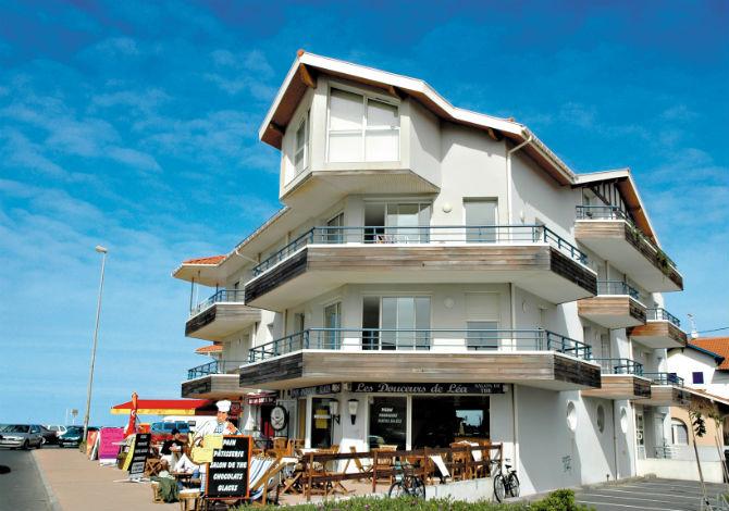 Les Patios Eugenie rsidence Biarritz - la mer, au soleil prs de la