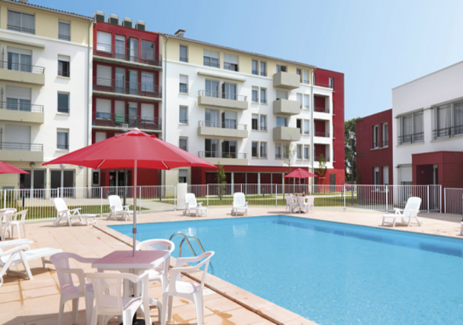 Location r sidence park suites el gance toulouse for Piscine cornebarrieu