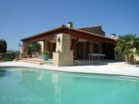 Vacances : Villa AC2776 - Appartement dans un mas avec p...