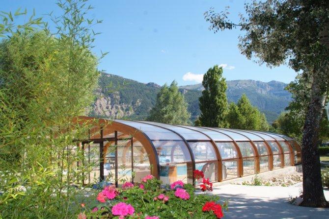 Camping le lac bleu chatillon en diois for Prix piscine chatillon