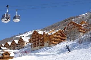 Résidence de Tourisme - Résidence Odalys Le Hameau et les Chalets de la Vallée d'Or