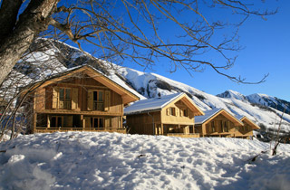 Résidence de Tourisme - Résidence Prestige Odalys Les Chalets de l'Arvan II