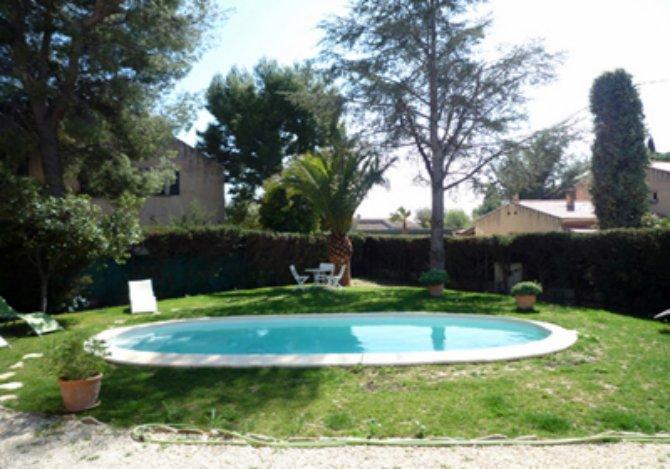 Location villa ac4865 villa avec piscine location for Camping la ciotat avec piscine