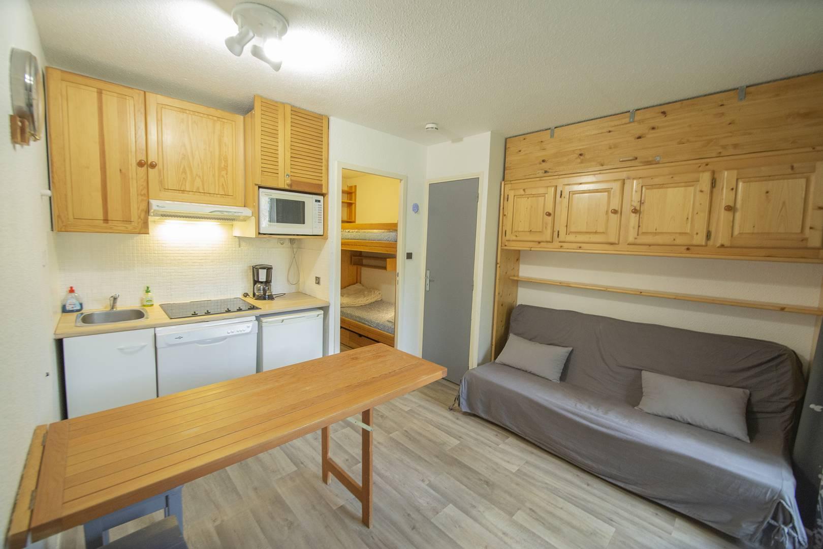Appartement L'oustal OUS23 - Hebergement + Forfait remontee mecanique