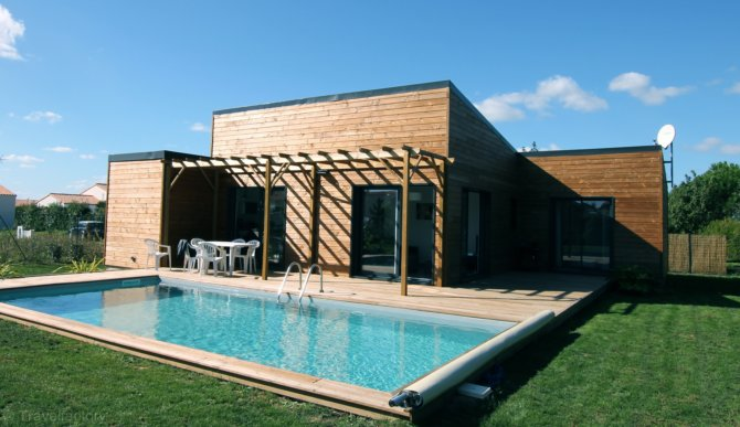 Location villa astelia saint vincent sur jard location for Location maison avec piscine vendee
