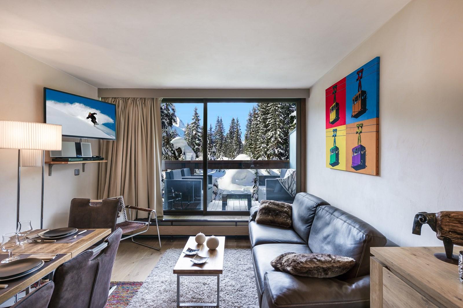 Appartement de particulier - Appartement Domaine Jardin Alpin 5