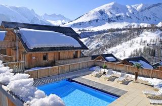 Résidence de Tourisme - Résidence Les Chalets des Ecourts 3*