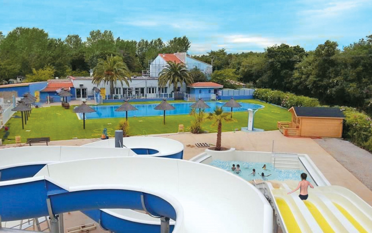 Location camping argeles vacances 4 location vacances for Camping finistere sud bord de mer avec piscine