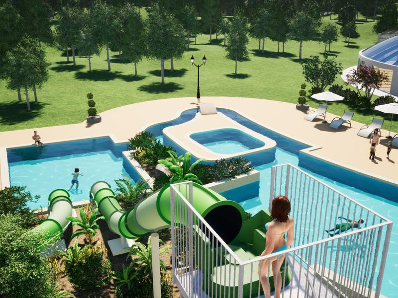 Camping Village Domaine d'Inly 5*