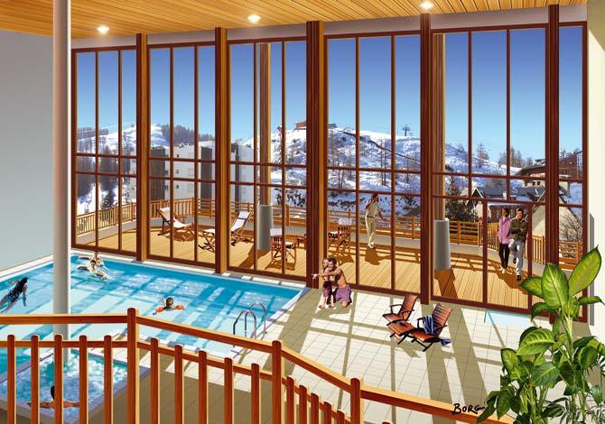 location chalet ski valberg