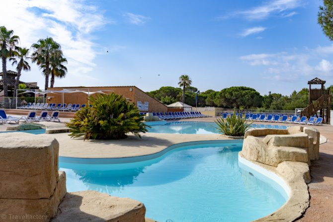 Camping Sunissim Parc Saint James Oasis Village 5*