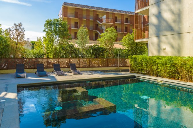 Location appart 39 h tel lagrange vacances montpellier for Appart hotel corse
