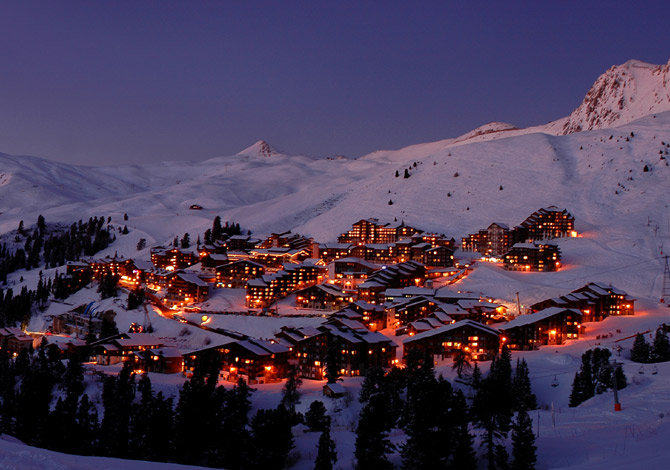 location ski belle plagne