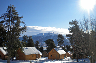 location chalet ski pyrenees week end
