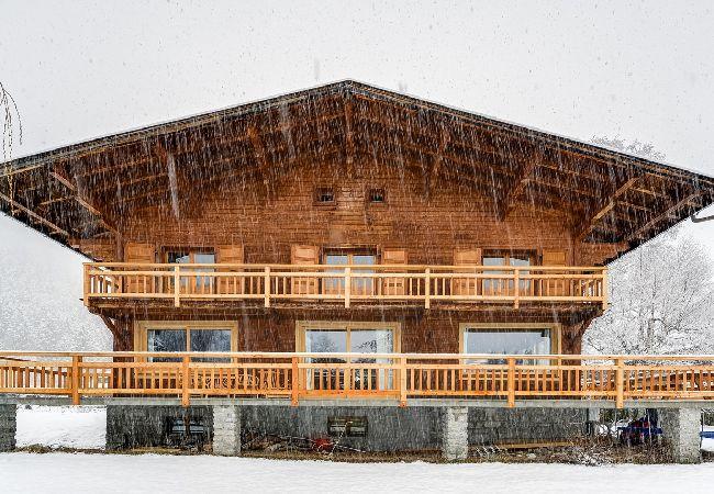 Vaste et chaleureux chalet vue Mont-Blanc