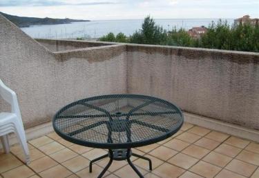 Vacances : Studio proche de la mer avec agréable terras...