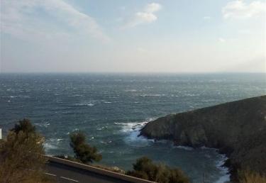 Vacances : Studio cabine avec vue mer terrasse et parkin...