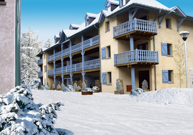 location appartement ski arreau