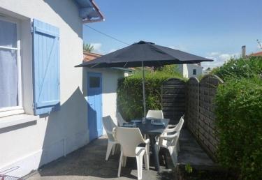 Vacances : Maison à 800 m de la plage du Pigeonnier