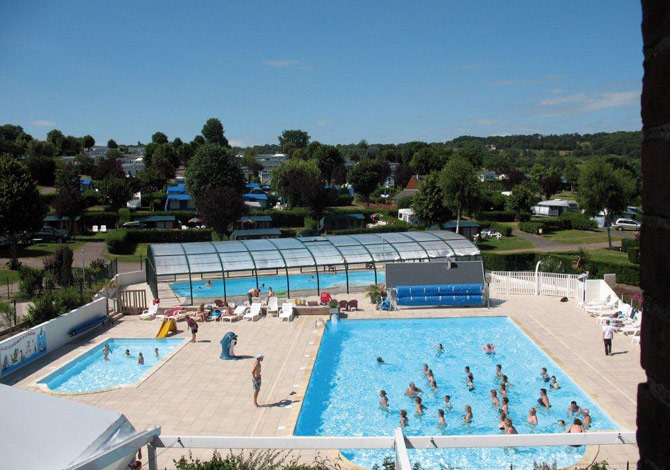 Location camping la vall e annule location vacances for Camping cabourg piscine