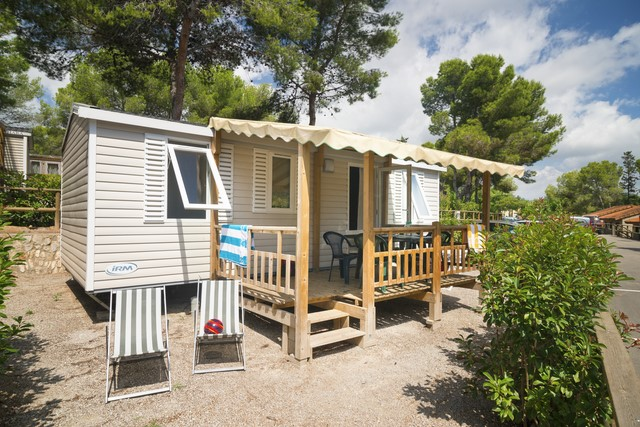 Mobil Home 3 Ch 6 Pers Terrasse 1/2 Couverte -7ans