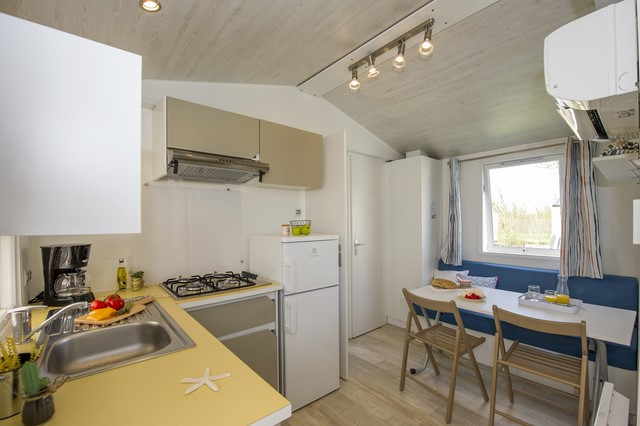 Mobil Home 2 chambres 5 personnes Cosy (4ad&1enf)
