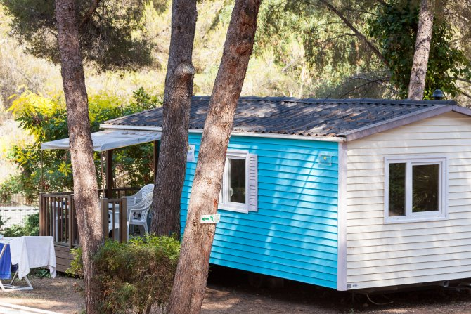 Mobil Home 2Ch 4/6pers Cottage Clim (4ad&2enf)