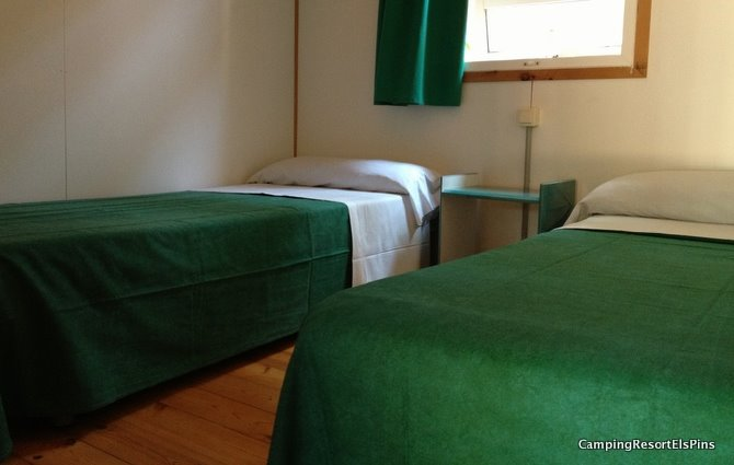 Bungalow 2 chambres 4/5pers (4ad&1enf -12ans)