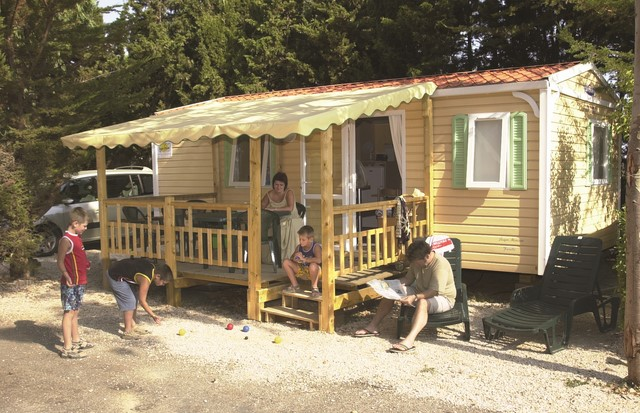 Mobil Home 2 Ch 6 Pers Terrasse 1/2 Couverte -7ans (4 ad max & 2 enf-14ans)