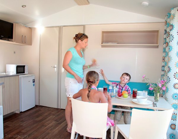 Mobil Home 2 Chambres 4/6 personnes