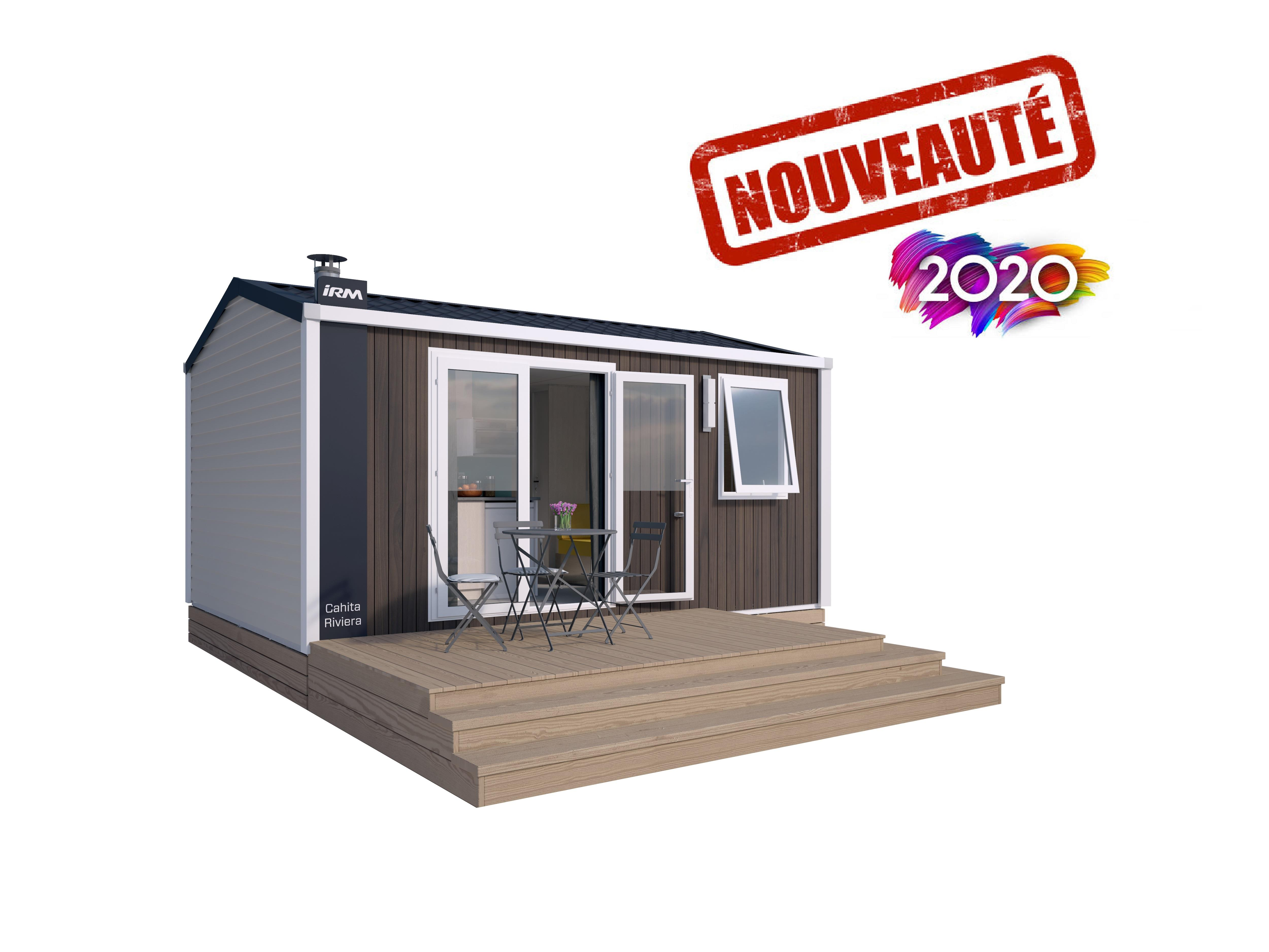 Mobil home climatisé 1 chambre 2 Pers.