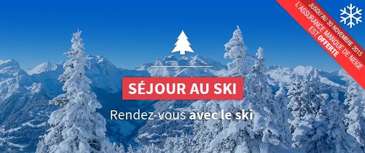 Séjour Ski