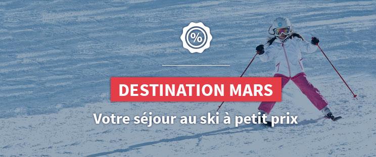 Cap sur Mars - Séjour au ski