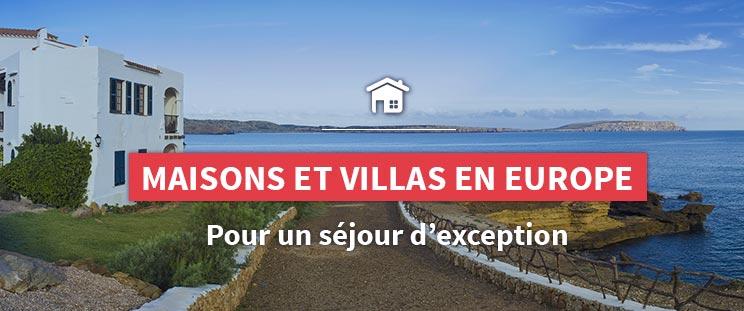 Maisons et villas en Europe