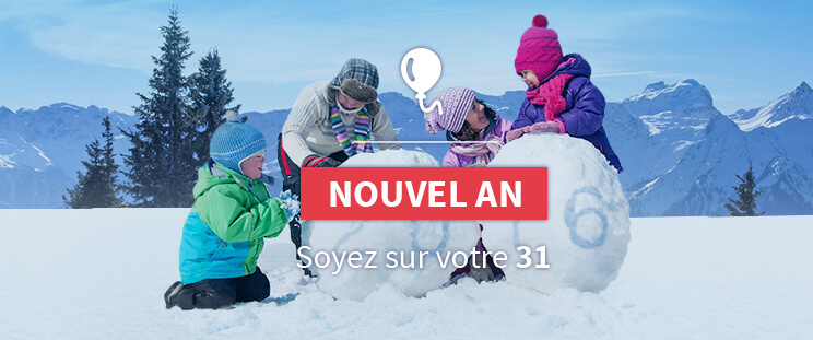 Le Nouvel An au ski