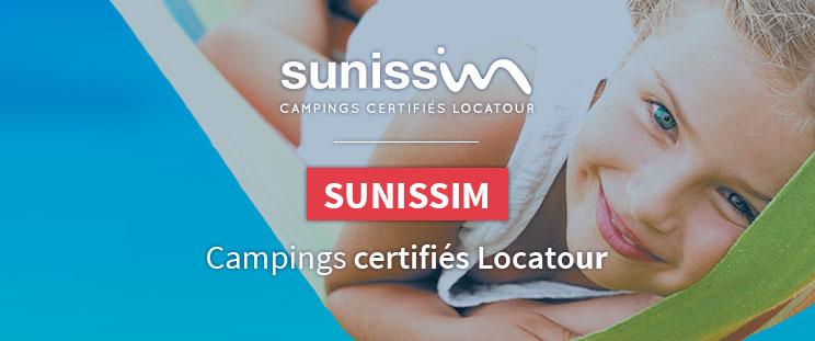 Sunissim: campings certifiés Locatour