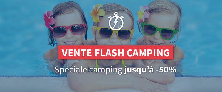 Vente Flash - Camping Spéciale été jusqu