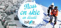 Skiez en décalé en Isère