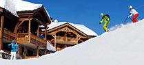 Spécial skis aux pieds