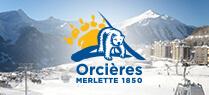 Skiez à Orcières Merlette 1850